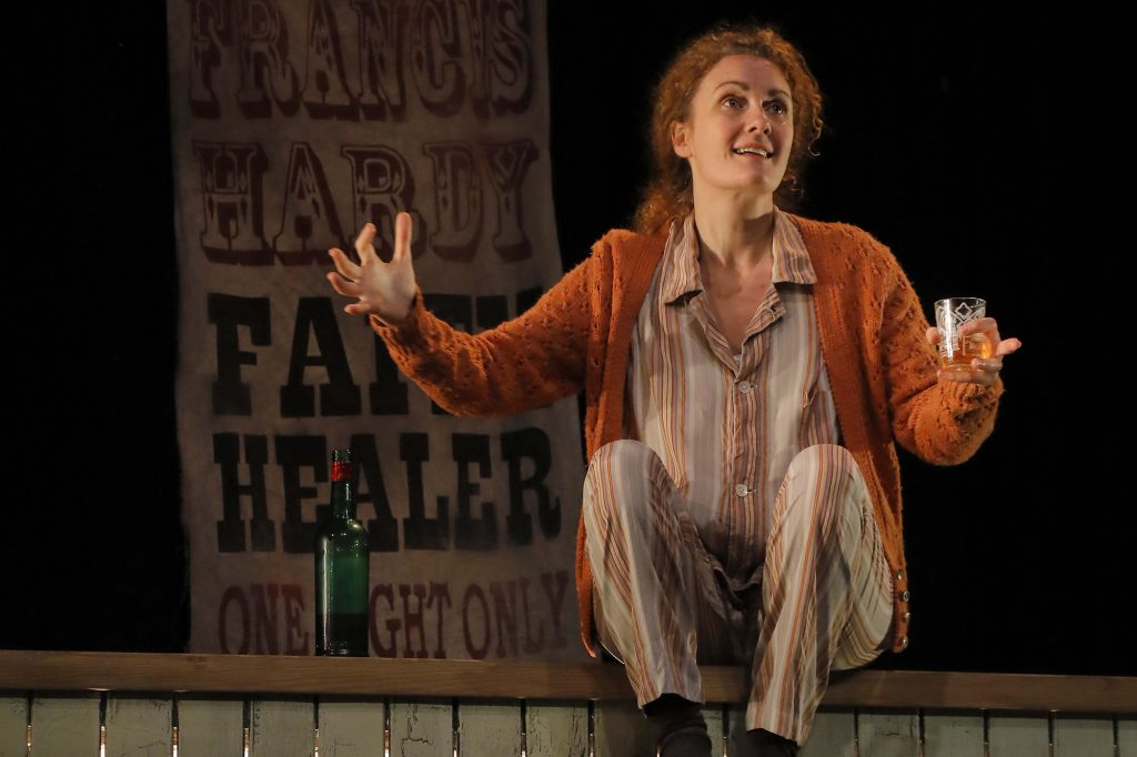 Kirsty Stuart in Faith Healer at Pitlochry Festival Theatre